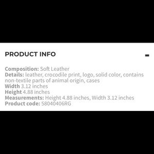 Versace Accessories - Versace phone case iPhone 5/SE